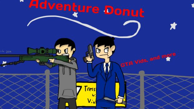 Adventuredonut Channel Art (FINISHED Pt 2) by BBCIGaming
