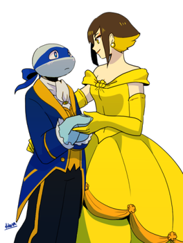 beauty and the beast by 07kiwa