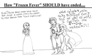 How Frozen Fever should have ended by brensey