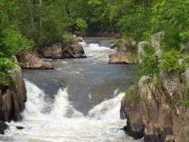 Great Falls of the Potomac 19 by Dracoart-Stock