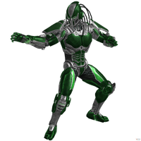 Mortal Kombat 9: Cyber-Reptile (Updated). by OGLoc069