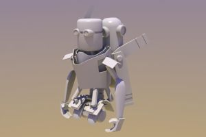GoinRobo WIP 1 by InvertedVantage