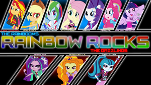 Rainbow Rocks Wallpaper by XYZExtreme13