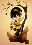 Chibi Toph by andungen