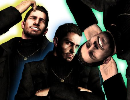 Mr. Redfield's faces by PWheroCR