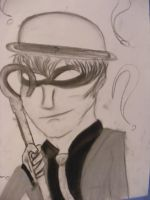 Charcoal drawings The Riddler by CoolestNinja1242