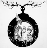 Inktober Day 15 : Over the Garden Wall by TheDreamer843