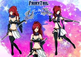 Edolas Erza Wallpaper by Inspired-Destiny