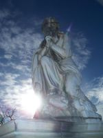 Cemetery Statue by Asphyxia777