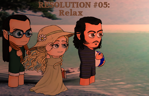 Resolution #05: Relax by Kumama