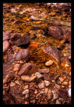The Color of the Stream by FasterThanChris
