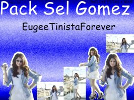 Pack de Sel Gomez by EugeeTinistaForever