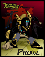 TFA Origins: Prowl by greenleafcm