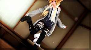 :MMD: Teen!Vanya by aexlyii