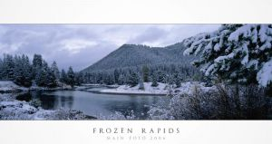 Frozen Rapids by Mainard