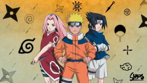 naruto team 7 by chps8