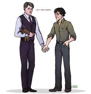 Hannigram: Let's have dinner by RinGreen