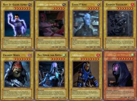 Yu-Gi-Oh Mass Effect Set 11 by Blackcell8