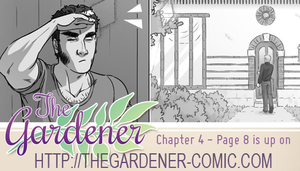 The gardener - Chapter 4 page 8 by Marc-G