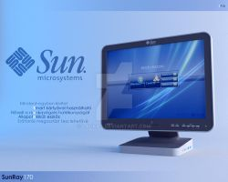 Sun Ray 170 Ultra-Thin Client by LAckas