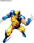 WOLVERINE-X MEN (MARKER-COLOR) by MUERTITO69