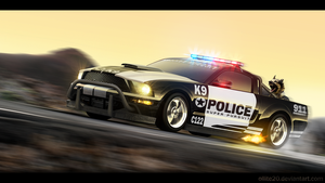 Ford Mustang Super Pursuit by ollite20