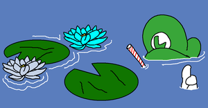 4. Waterlillies by AwesomeCAS