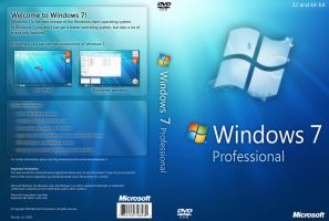 Windows 7 Professional DVD by yaxxe