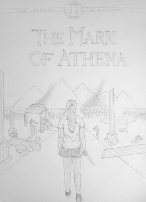 The Mark of Athena line cover