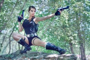 Lara shoting by Anastasya01