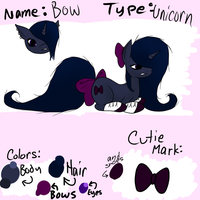 Bow Reference Sheet by Black-Rose-Emy