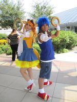 Sonic and Tails by RJTH