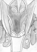 Rubick sketch by shadowl00t