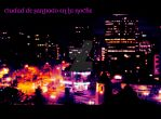 Santiago Chile at Night by JoHotheRumrunner