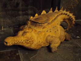 Pryor Crocodile Tea Pot by JohnTheWarlord
