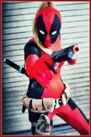 Boobs. I Mean...Lady Deadpool by SequinSuperNOVA