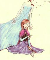 Catch Me {Anna and Elsa: Frozen} by CocoaRabbit