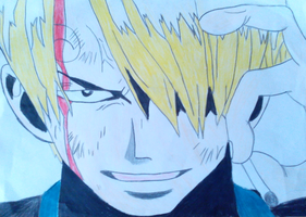 One Piece-Sanji by Reighly