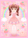 Princess Peachie Mascot - Remake by Princess-Peachie