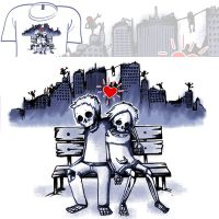 Woot Shirt - My Apocalyptic Valentine by fablefire