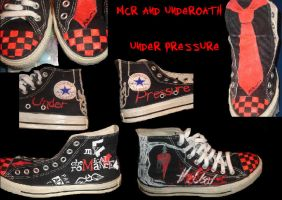 mcr the used shoes by munchmunchx3