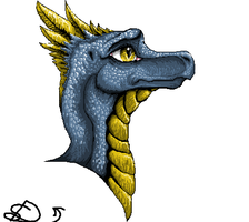Microsoft paint: the bestest thing for dragons by SnapDragonStudios