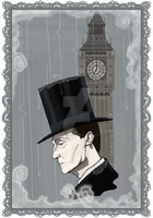 Sherlock Holmes - Oh Land of Gloom Oh Land of Mist by MrsHorowietzky