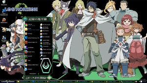 theme windows xp log horizon by ThemeAnimeWIndows