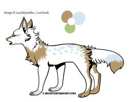 CLOSED - Canine Adoptable 47 by LeaAdoptables
