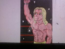 CLASSIC NES PRO WRESTLING KING SLENDER by shawncomicart