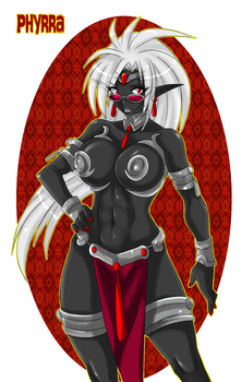 Edited Commission: Phyrra by KatrinaSinclaire