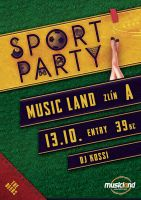 Flyer / Sport Party by K0M0X