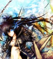 Black Rock Shooter 05 by Escria