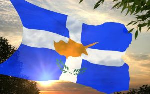 3D Cyprus Flag by Hellenicfighter
